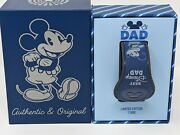 Best Disney Dad Fatherand039s Day 2021 Tie Pattern Le1500 Magicband Disney Parks