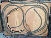 N Scale Train Track Layout Table Top Unfinished 47 X 35 Well Built