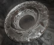 Lalique Centerpiece Rare Cavalcade Running Horses 13 Huge Mint Labeled