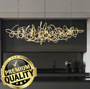 Light Led Restaurant Bar Chandelier Decoration Art Nordic Front Desk Lamp