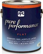 Paintint Flat Pure Whitegl By Ppg Industries Inc