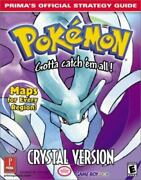 Pokemon Crystal Version [primaand039s Official Strategy Guide]