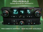 55111807af 08-10 Caravan Town And Country Auto Climate Heater Control Rebuilt 0056
