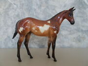 2003 Peter Stone Lovee Glossy Speckled Bay Heart Decorator Pinto Weanling