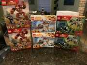 Lego Super Heroes And Star Wars Set Lot Of 6 76099, 75215, 76104