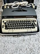 Vintage Smith Corona Electra 210 Automatic Electric Typewriter And Hard Case