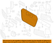 Audi Oem 15-16 Rs7 Front Bumper Grille Grill-center 4g8853651mgme