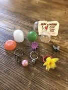 Vintage 1970s Flower Ring With Other 60s 70s Vending Machine Prizes
