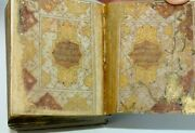 An Old Illuminated Miniature Koran With Fine Calligraphy. 305 Leaves