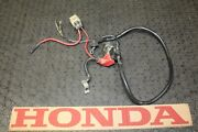 Honda 400ex Starter Motor Battery Electrical Wiring Cable And Solenoid Relay