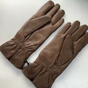 Brown Leather Mk2 Combat Gloves - Size8 British Army Issue New