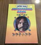 Peter Max Superposter Book 1971. Softcover. Vg Vintage Condition.