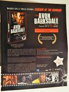 Avon Barksdale Wood Harris / Abbott And Costello Tv Video 2000s 2-sided Ad