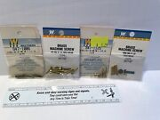 Lot Of Walthers Brass Machine Screws Hex Head For Model Trains