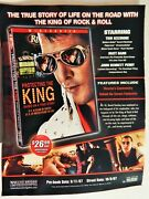 Protecting The King Matt Barr Tom Sizemore Jb Perry Rare 2000s 2-sided Ad