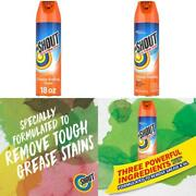 Shout Advanced Foaming Grease And Oil Stain Remover For Clothes 18 Oz