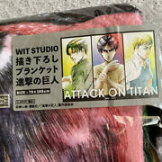 Attack On Titanwit Studio Newly Drawn Blanket Jp Anime Character