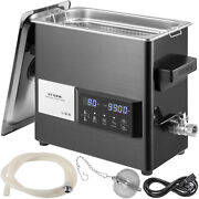 Vevor 6l Ultrasonic Cleaner Touch Cleaning Equipment Industry W/ Timer And Heater