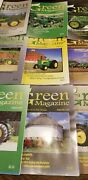 Vintage Green Tractor Magazines Farming Equipment 2009 Set Complete Of 12