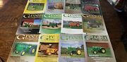 Vintage Green Tractor Magazines Farming Equipment 2010 Set Complete Of 12