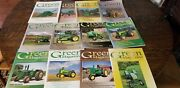 Vintage Green Tractor Magazines Farming Equipment 2011 Set Complete Of 12