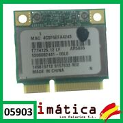 Card Wifi For Laptop Sony Vaio Pcg 234950 10/12ft Wireless Spare
