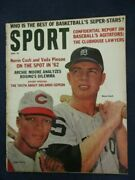 Vintage Sport Magazine April 1962 Vada Pinson Reds And Norm Cash Tigers Mlb