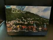 New Sealed Guild Old Wharf Area Bergen Norway 550 Piece Puzzle