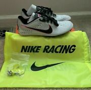 Nike Zoom Victory 3 Track Spikes Size Pure Platinum/pink Blast 835997-002 All Sz