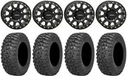System 3 Sb-3 Black 15 Wheels 35 Trail Saw Rt Tires Can-am Renegade Outlander