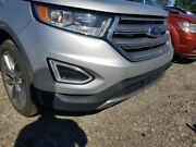15-18 Ford Edge Titanium Oem Front Bumper Assembly Painted Silver