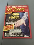 1986 March Lost Treasure Magazine Get The Gold The Others Forgot K129