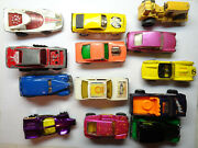 Matchbox And Hot Wheels + More Cars Trucks Vintage Lot 1970s-1990s
