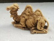 Early Fontanini Depose Italy Spider Christmas Nativity Seated Camel 50