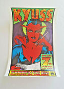 Kyuss Poster Signed Kozik Limited Numbered Edition Queens Of The Stone Age 1995