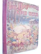 Antique Children's Book The Brownies Kind Deed Palmer Cox Victorian Fairy Tale