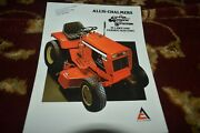 Allis Chalmers Lawn And Garden Tractors For 1978 Brochure Cgpa Ver