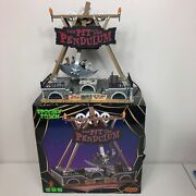 Lemax Spooky Town The Pit And The Pendulum Halloween Carnival Animated Sounds