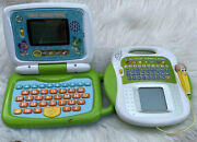 Leapfrog 2 In 1 Leaptop Touch Green Laptop Lot