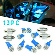 13x Auto Car Interior Led Lights For Dome License Plate Lamp 12v Accessories Cr