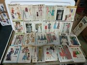 Gigantic Lot Of Vintage Simplicity Sewing Patterns