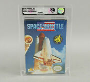 Space Shuttle Project Nintendo Nes New Factory Sealed Vga Graded 85 Nm+ Beauty