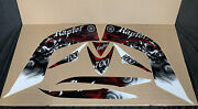 Yamaha Raptor 700 Stickers Oem Red Graphics Decals Atv-1as25-00-04 New A-10