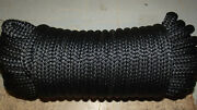 1/2 12mm X 68and039 Double Braid Polyester Sail/halyard Line Jibsheets Boat Rope