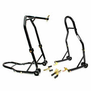 Motorcycle Front+rear Headlift Dual Lift Stand For Ducati 749r