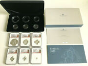 2021 Uk Britannia With Lion 6-coin Silver Proof Set Ngc Pf70 Uc First Releases