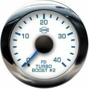 Isspro R13377 2-1/16 Turbo Boost Gauge 0-40 Psi New