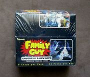 2008 Inkworks Family Guy Episode Iv A New Hope Trading Cards Factory Sealed Box