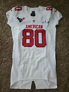 Nike Team Issued Andre Johnson Texans 2012 Nfl Pro Bowl Football Game Jersey