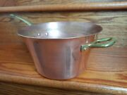 Ruffoni Copper Chef's Large 9.5 Pot Pan Made In Italy